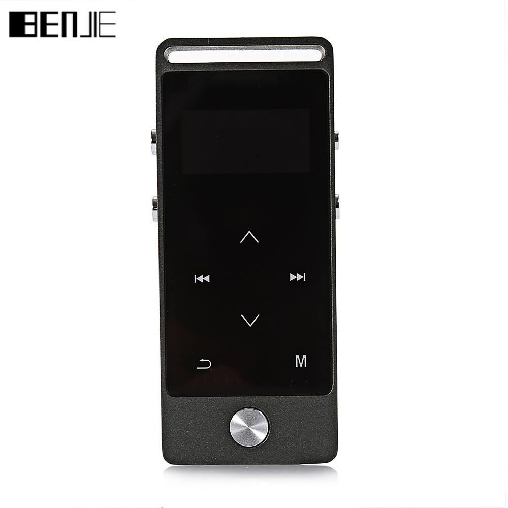 BENJIE S5 Metal Touch Screen MP3 Player APE FLAC WAV High Sound Quality 8GB Entry level