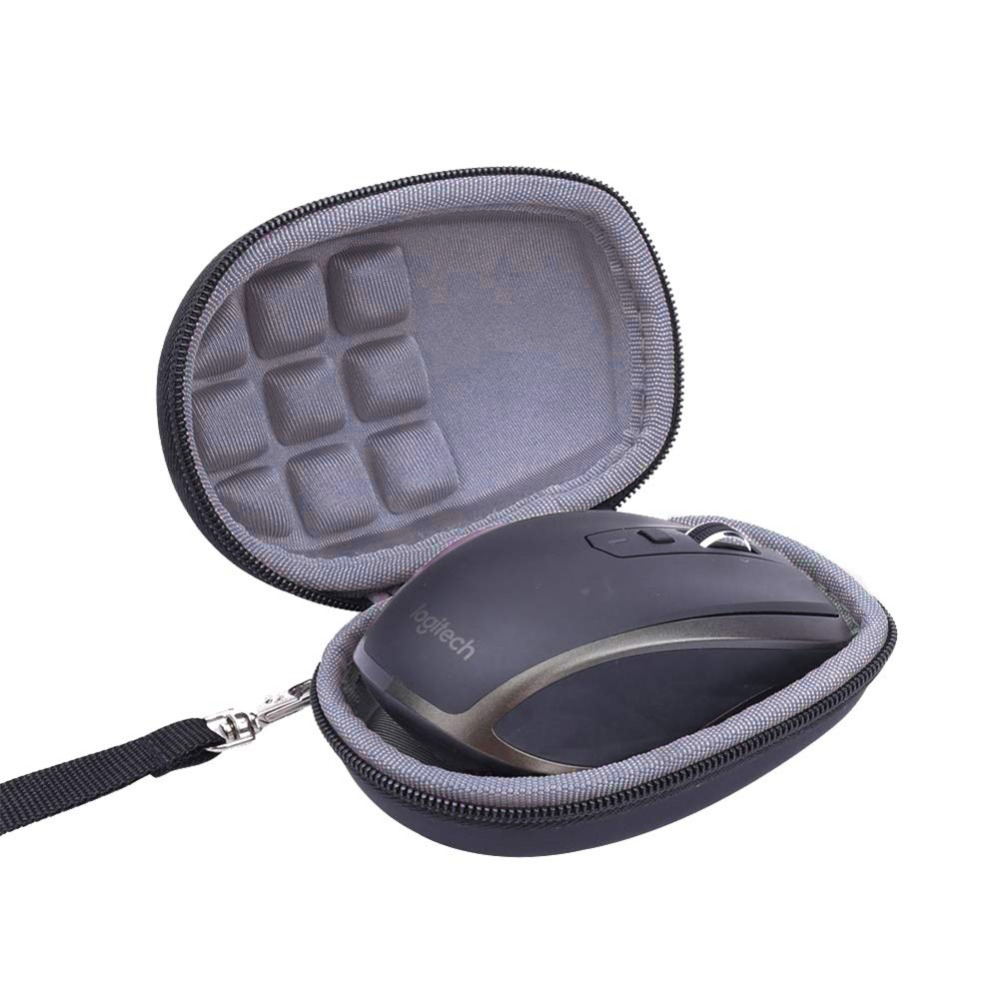 Hard EVA Travel Case For Logitech MX Anywhere 1 2 Gen 2S Wireless Mobile Mouse