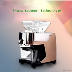 Home-use Mini Peanut Oil Press Machine Commercial Hot And Cold Sunflower/almond/soybean Oil Extractor Expeller Presser 220V/110V