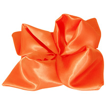 Orange table linen/table napkin/wedding linen/satin napkins 50 Pieces