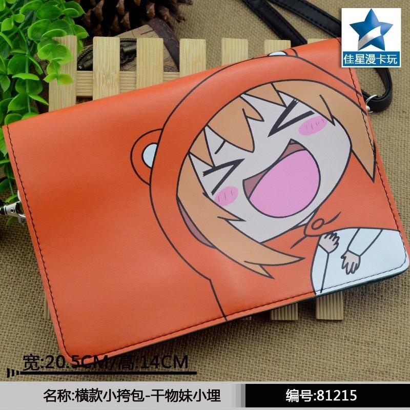 2fa8c29ea3320 Umaru-chan pomarańczowy poziome klapy Crossbody tornistry/pojedyncze torebki/Mini  torba/torba na ramię