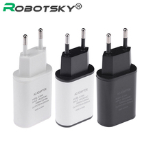 New EU Plug USB Charger 2A Europe Universal Mobile