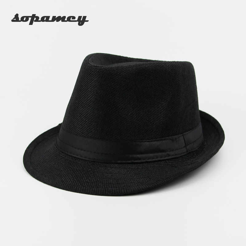5264f7655 Detail Feedback Questions about Casual Panama Sun Hats Straw Men ...
