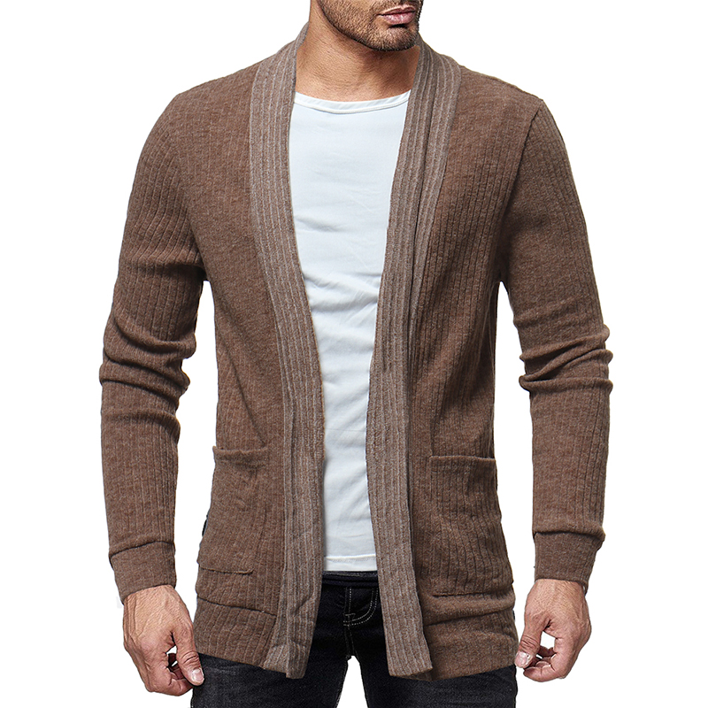 MRMT 2019 Brand Men's Jackets Sweater Cardigan Wild Color Knit Shirt Long Sleeve Overcoat For Male Jacket Clothing