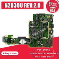 NOVA N2830U REV2.0 X553MA motherboard PARA ASUS X503M F553MA F553M X553MA X553M X553MA mainboard laptop Motherboard 100% Teste OK