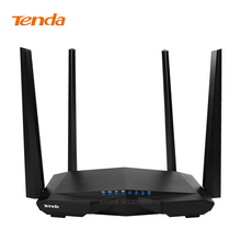 Tenda AC6 Dual Band 1200Mbps Wifi Router WI-FI Repeater Wireless WIFI Router 11AC 2.4G/5.0G English Firmware free shipping
