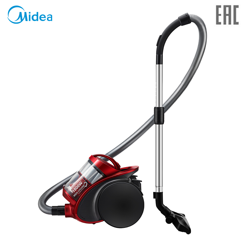 Vacuum Cleaner Midea VCM38M1 bagless canister with 1800W power and large suction power, Multi-cyclone system, with two brushes chinese calligraphy writing painting brushes box set 3 brushes