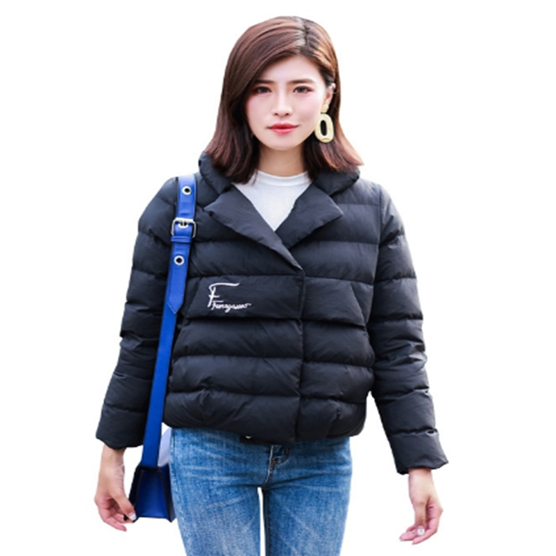 Light, short, female down cotton 2018 new winter cotton , small cotton padded