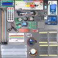 С Розничной Коробке UNO Rev3 КОМПЛЕКТ для Arduino Starter Kit RFID Узнать Люкс Шаговый Двигатель + ULN2003 Бесплатная Доставка 1 набор