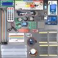 Con la Caja Al Por Menor Kit Starter KIT para Arduino UNO Rev3 RFID Aprender Suite Motor + ULN2003 Envío Libre 1 conjunto