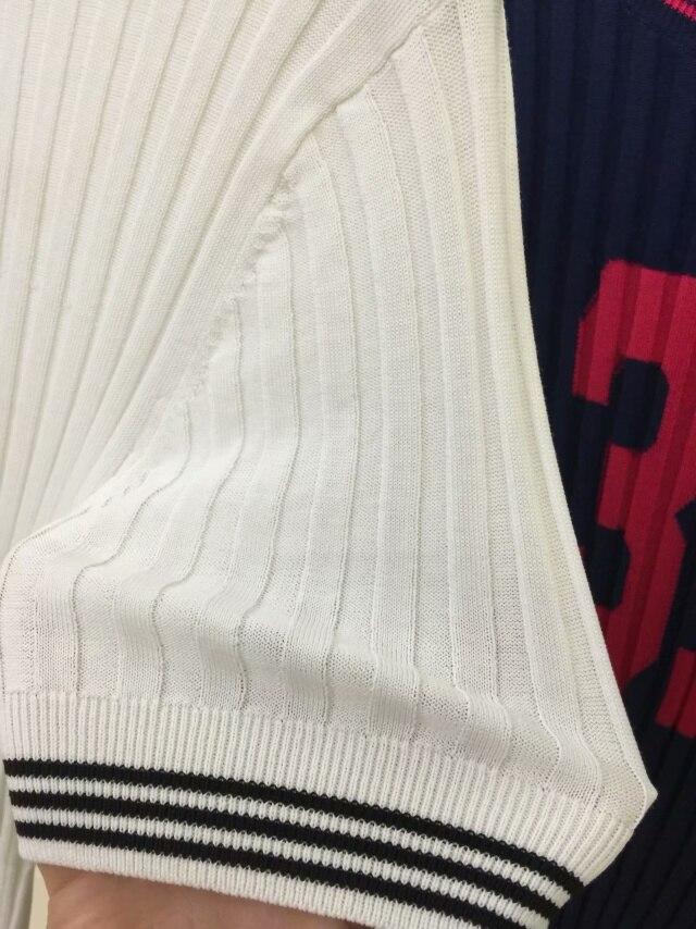 Été Tricoté Bleu Courts Hauts As Top 2019 12 Nombre as Tee T Mince Picture Shirts T Nouveau shirts 3 Femme Manches Courtes D'été Blanc Picture PwqYEIPf