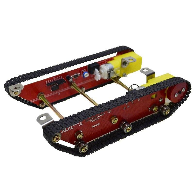 Умный робот цистерны наборы шасси caterpillar гусеничные шасси трек Integrated 2 двигателя DD1-1 для Arduino
