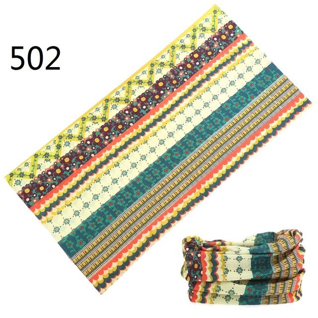 12pcs/lot 501-600 wholesales Scarf Seamless Bandana Men Snood Headwear Tube Mask Cap Muffler Anti-UV bandana Climbing Scarves