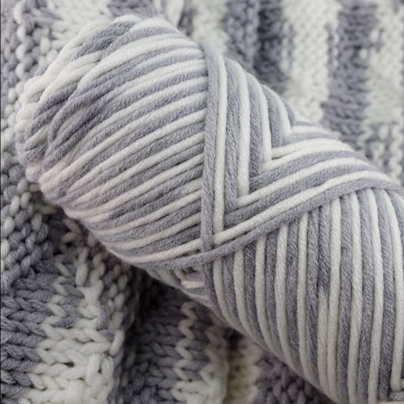 10 Pcs / Lot Lovers Cotton Natural Milk Cotton Thick Yarn For Knitting Baby Wool Thread Crochet Hand Knitting Yarn Cotton Yarn