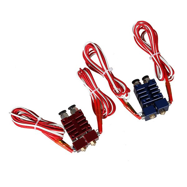 New Arrival 3DSWAY 12V 40W Improved 2 In 2 Out Hotend Kit with Thermistor For 3D Printer