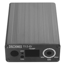 Caso box in lega di Alumium shell per HAKKO T12 Unità Digital Stazione di Saldatura di Ferro Elettrico Regolatore di Temperatura Kit