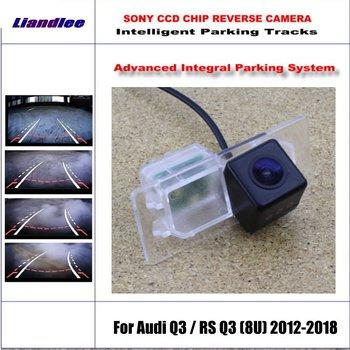 Intelligentized Reversing Camera For Audi Q3 / RS Q3 (8U) 2012-2018 Rear View Back Up / 580 TV Lines Dynamic Guidance Tracks