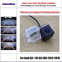 Intelligentized Reversing Camera For Audi Q3 / RS Q3 (8U) 2012 2018 Rear View Back Up / 580 TV Lines Dynamic Guidance Tracks
