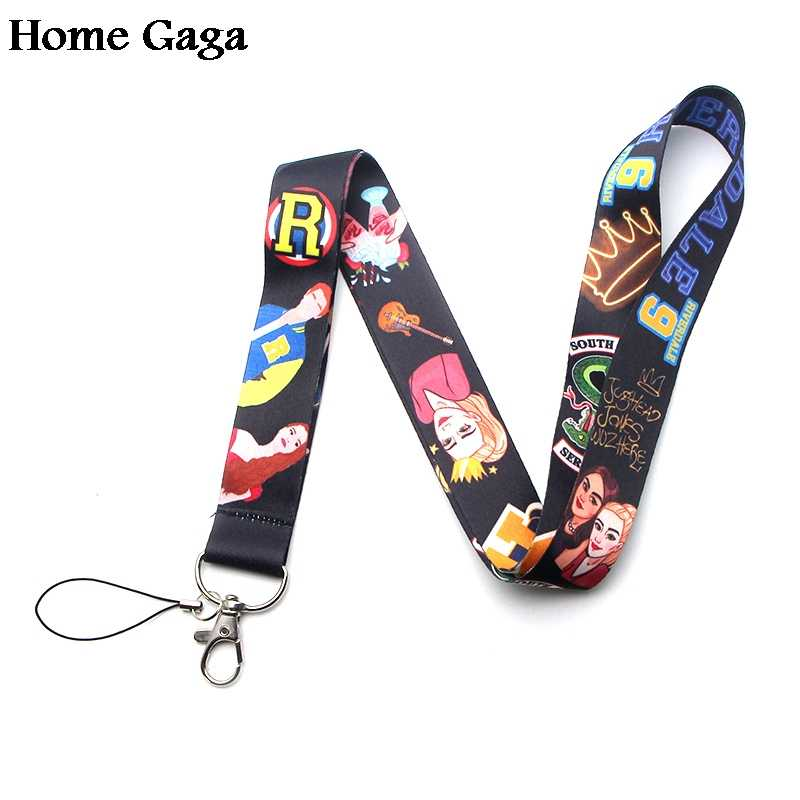 Homegaga Riverdale movie neck lanyards for diy keys glasses card holder bead keychain phones cameras webbing D1420