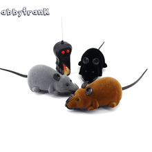 1 Piece RC Rat Mouse Wireless Baby Toys Novelty Gift Funny Electronic Remote Control Mouse Toy for Children Pet Cat Play