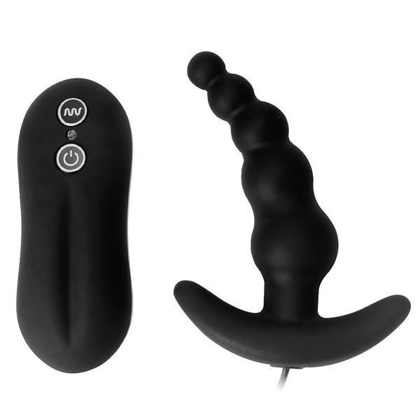 Hot Sale 10 Frequency Vibrating Prostate Massager, Anal Plug Vibrator, Vibrating Anal Beads, Butt Plug, Sex Toys, Sex Products