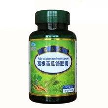 Free shipping kudzu root balsam pear chromium capsules 0.4 g 60 pcs