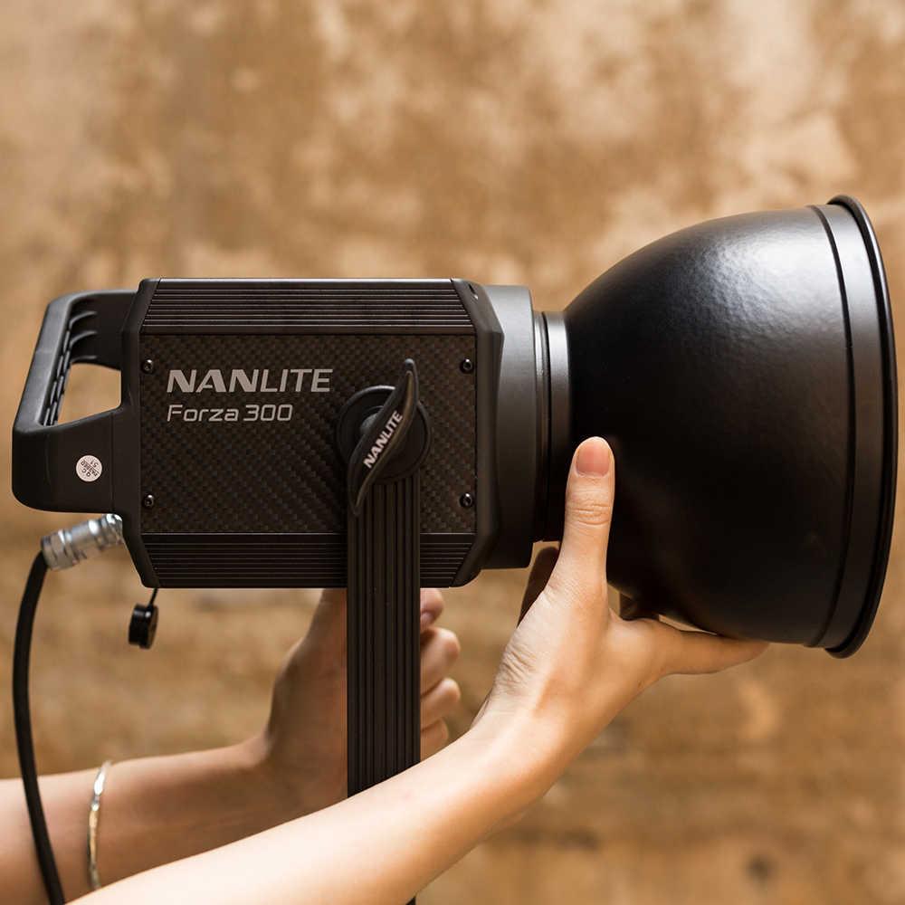 5600K Studio Leuchte daylight Nanlite Forza 500 LED Light mit Tasche