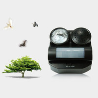 New Hot Humane Protective Ultrasonic Sonic Infrared Sound Flashlight Birds Repeller Driving Controller