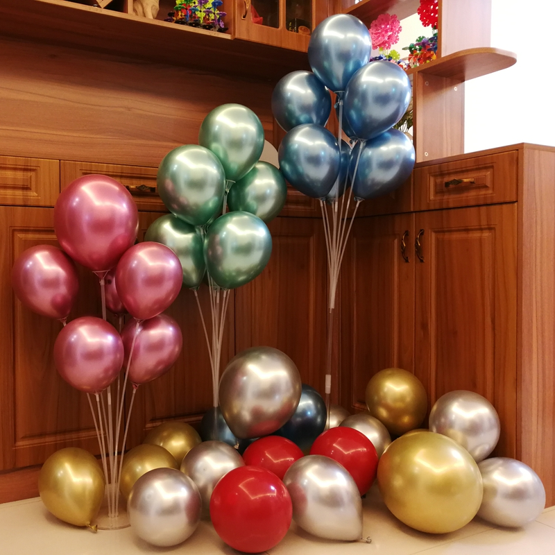 <font><b>70</b></font>/100/120cm Balloons Stand Holder Balloon Arch Stick <font><b>Birthday</b></font> <font><b>Party</b></font> Decorations Kids Ballon Wedding Decor Globos Baloon Stand image