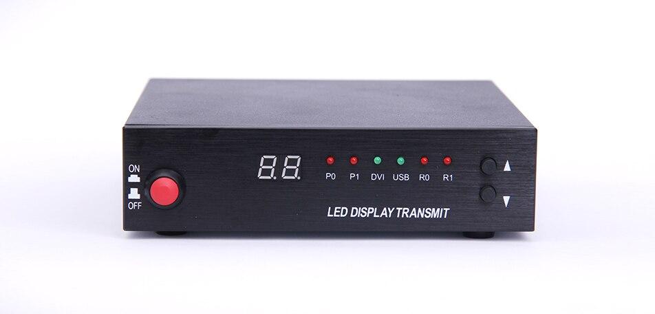 Mooncell 1 Card Transmitter Enclosure( Sending Box) for led screen led display videowall full color led display sending card box sc 10 support 10pcs sending card