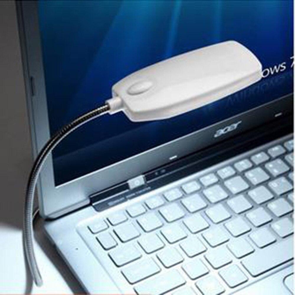 Flexible USB 28 LED Light Clip-on Reading Book Lamp