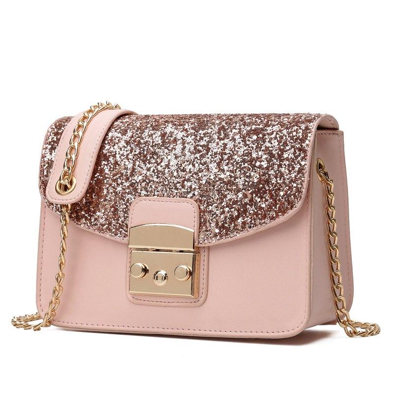 Amarte Ladies Women Crossbody Bag PU Leather Shoulder Women Casual Versatile Messenger Bag Womens Small Flap Evening Bag