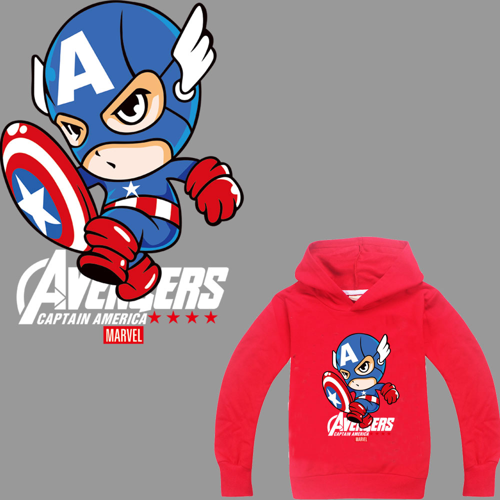cartoon superman patches iron on transfer for clothing Marvel thermal stickers heat parches termoadhesivos ropa
