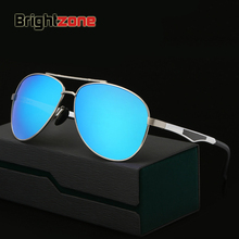 Polarized   Sunglasses Aluminum Magnesium Alloy Man Polarized   Glasses Sunglasses Color Film Sunglasses oculos de sol gafas