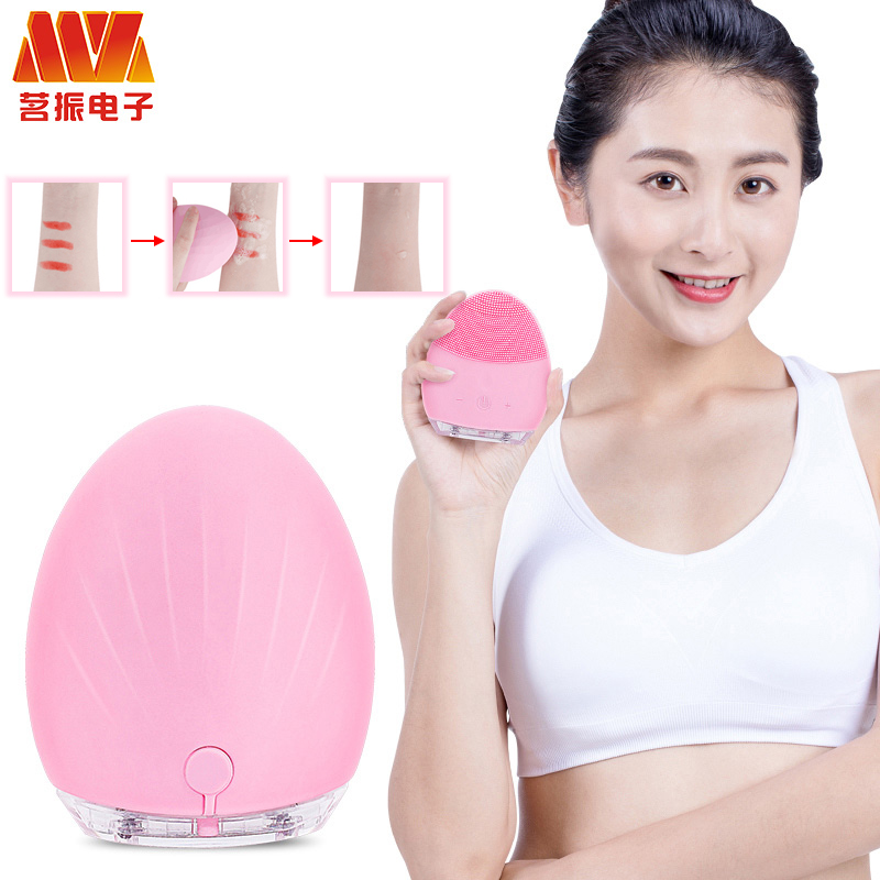 Skin care tool electric facial cleaning massage brush sonic face washing machine waterproof silicone face cleanser dirt remove
