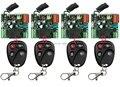 Пульт дистанционного управления нью AC220V 1CH 10а радио контроллер рф беспроводной реле-переключатель 315 мГц 433 мГц teleswitch 4 передатчика 4 приемник