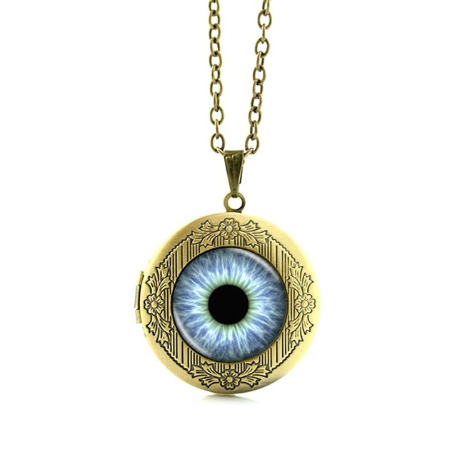 Game of Thrones Dragon Eye Crystal Pendant Chain Necklace