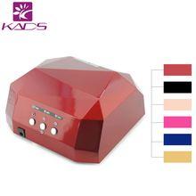 36W 110v&220v CCFL LED Professional Nail Gel Lamp Dryer Diamond Shape Curing Nail Dryer Newly Diamond UV gel Lamp Nail Dryer