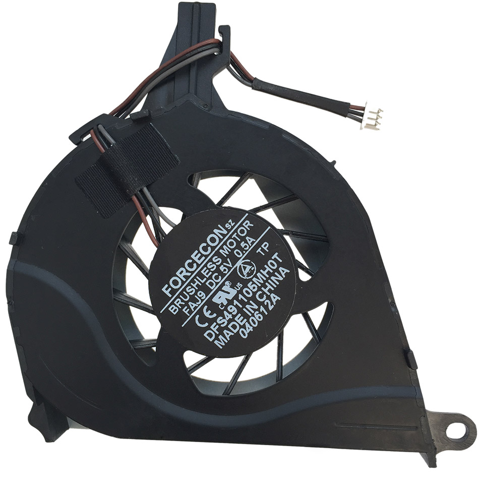 New original Cooling Fan For Toshiba Satellite L650 L650D L655 L655D L750 L750D Cooler Laptop Radiator Cooling Fan Free Shipping personal computer graphics cards fan cooler replacements fit for pc graphics cards cooling fan 12v 0 1a graphic fan