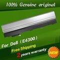Бесплатная доставка 0FX8X 312-0822 9955 451-10636 10638 11493 453-10039 FM332 XX337 HW905 Оригинальный ноутбук аккумулятор Для Dell E4300 E4310