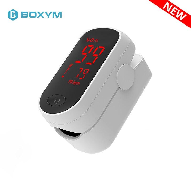 Oxymètre de pouls du bout des doigts oxymètre de doigt LED Spo2 moniteur de fréquence cardiaque Pulsioximetro moniteur de Saturation en oxygène du sang