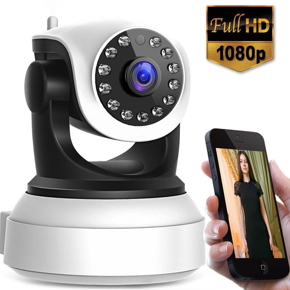 WiFi IP Camera 1080P/720P HD Indoor Wireless Camera NightVision/Motion Detection/Two-Way Audio/Elder/Pet/Baby Monitor A GiftWiFi IP Camera 1080P/720P HD Indoor Wireless Camera NightVision/Motion Detection/Two-Way Audio/Elder/Pet/Baby Monitor A Gift
