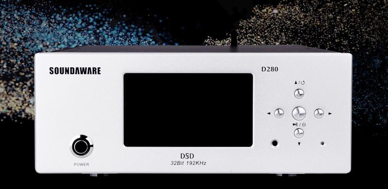 R-023 Soundaware D280 Desktop Digital turntable HIFI Support Roon Ready  DLNA Airplay Internet wifi NAS SAMBA USB