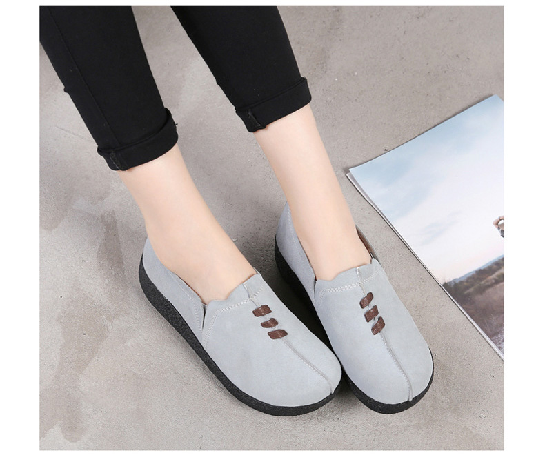 LL 3022-2019 Spring Autumn Women Wedge Shoes-16