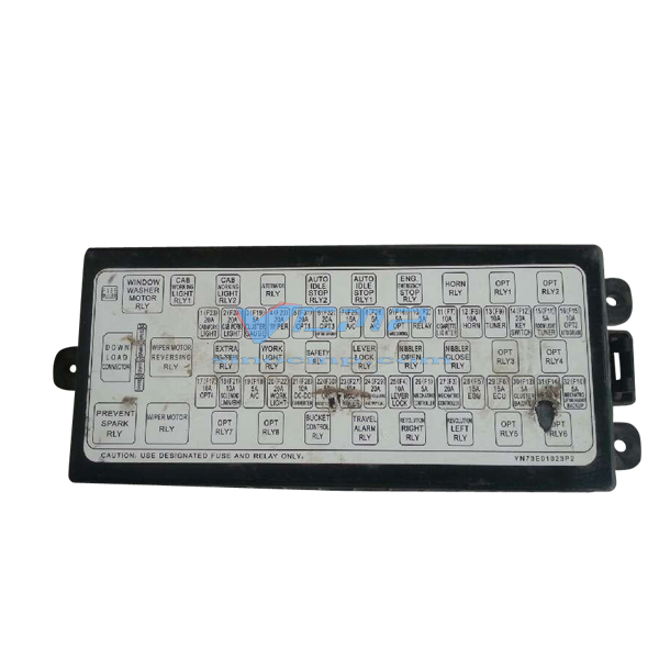 kobelco fuse box explained wiring diagrams wiring gfci outlets in series sk250 8 kobelco excavator relay assembly yn73e01024p2 in a c vw fuse box diagram kobelco fuse box