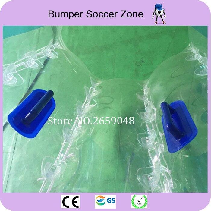 Diametro 1.5 m PVC Bolla di Calcio Per Adulti Calcio Bolla Paraurti Palla di Criceto Umana gonfiabile Sfera Dello Zorb Completo In Vendita All'aperto giocattolo - 4