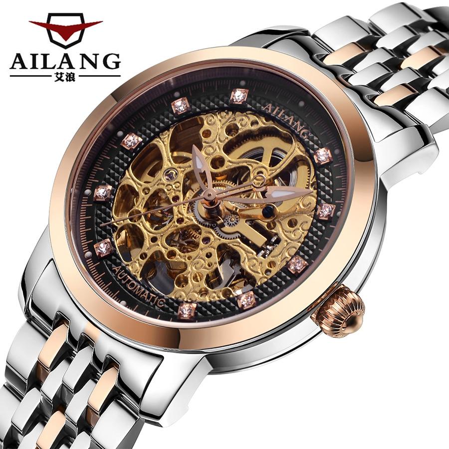 Relojes de marca de lujo para hombre reloj mecánico automático - Relojes para hombres - foto 2
