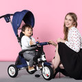 Folding children tricycle bike free inflatable baby buggy bike stroller