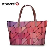WHOSEPET Ladies Top-handle Bags Fashion Design Women Shoulder Female Handbags Waterproof Clutch Hand 2019 New