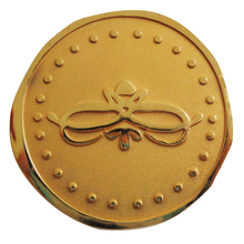 new product custom metal copper souvenir coin